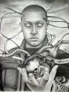 Self-portrait by Andrew Kirchner