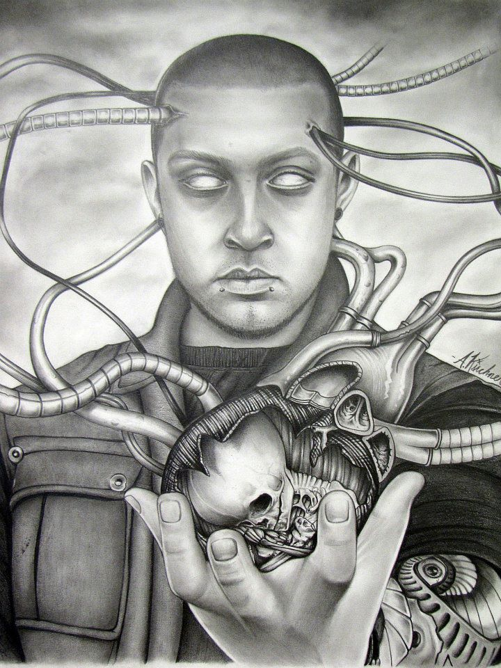 Self Portrait By Andrew Kirchner The Prison Arts Coalition
