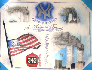 """WTC Memorial"" by Jonathan Jacob Nurse"