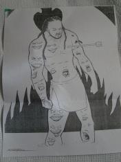 """Artwork by Lamarr """"Starkim"""" Little"""