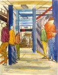 14th and Seventh Subway Platform - Enrico Miguel Thomas