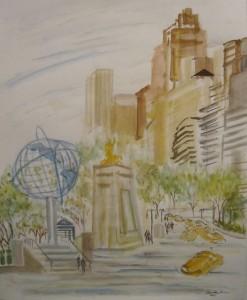 Columbus Circle - Enrico Miguel Thomas