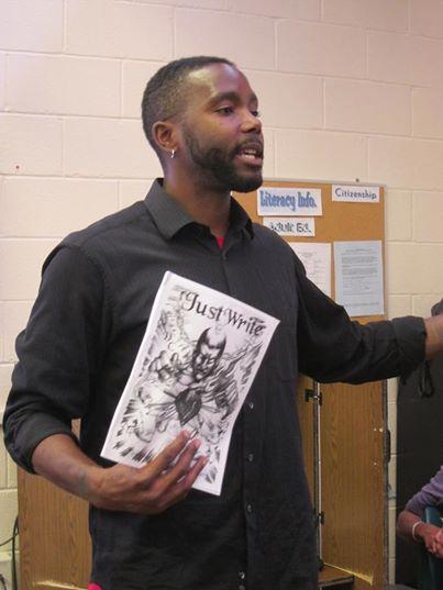 Hakim Bellamy at the Monroe Correctional Facility.