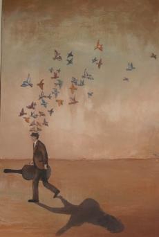 """""""Self-potrait #7"""" by Thomas Whitaker"""