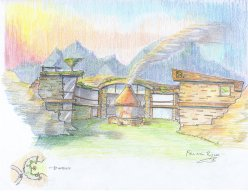 """""""Falling Rock House"""" by Conor Broderick"""