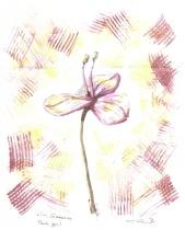 Watercolor Flower C. Ryan