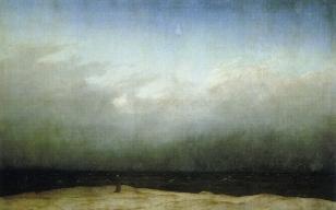 By the Sea Friedrich Monk