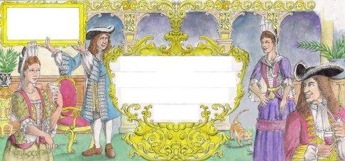 Baroque Letter by D. Ashton