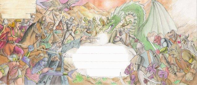 Fantasy Letter by D. Ashton