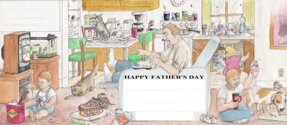 Father's Day Letter by D. Ashton