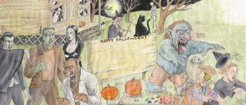 Halloween Letter by D. Ashton