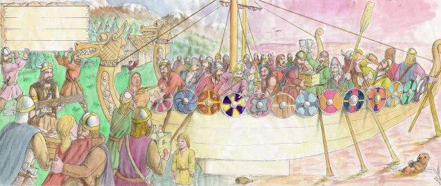 Viking Letter by D. Ashton