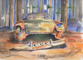 """Broken Car"" by Conor Broderick"