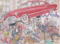 1950 Buick by D. Ashton