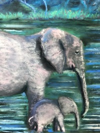 Mother and Child by Maria Buie