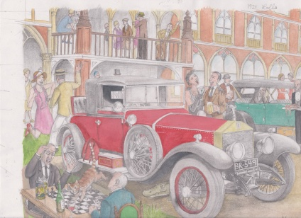 1921 Rolls by D. Ashton