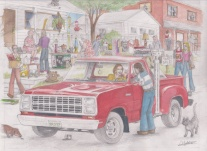 '79 Dodge LRE Truck by D. Ashton