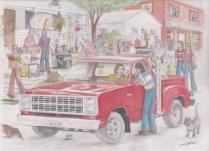 '79 Dodge LRE Truck by D. Ashton