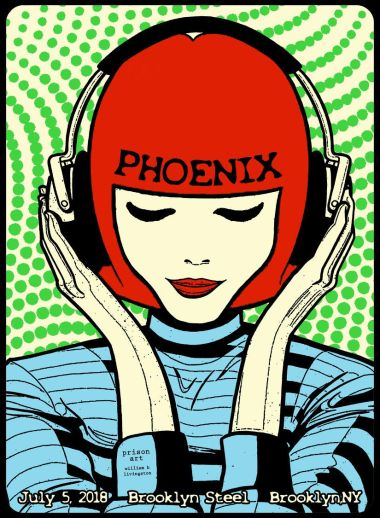 """by W.B. Livingston """"Phoenix is one of my """"headphone"""" bands. It is a band that is great for zoning out while working, walking or just blocking out everything else."""""""